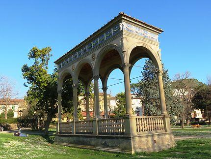 Jardin de l'horticulture, loggia Renaissance