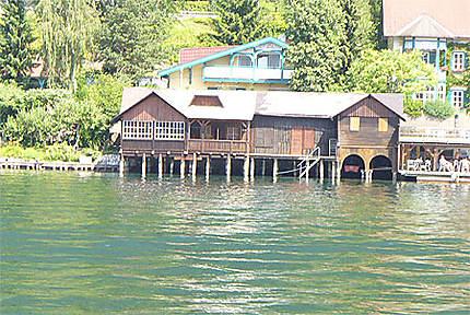 Le lac d'Ossiach