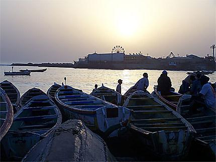 Marché aux poisson à Dakar