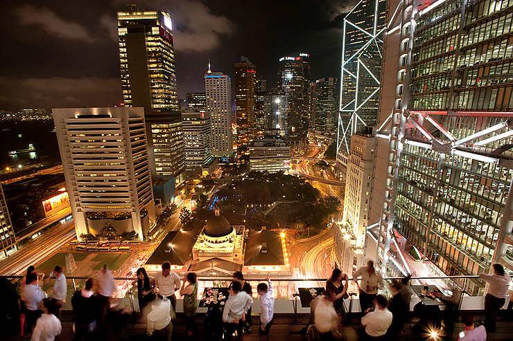 Hong Kong - Les rooftops bars, avec vue inoubliable sur Hong Kong