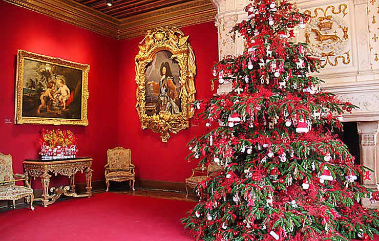Noël au pays des châteaux dans les châteaux de la Loire