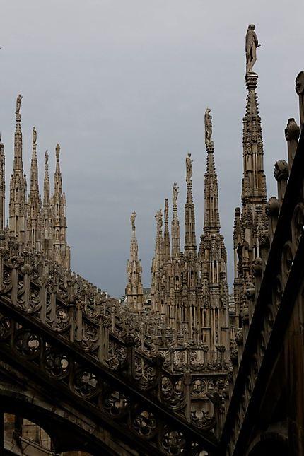 Dentelle du Duomo de Milan