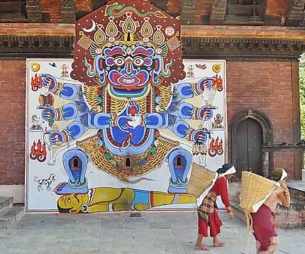 Bhairava, avatar maléfique