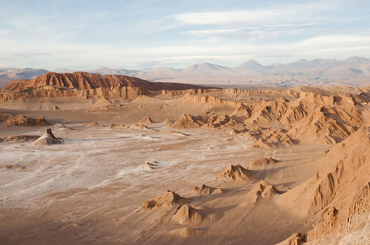 Vallées de la Lune et de la Mort : première approche avec le désert