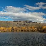 Lac d'automne-Omarama