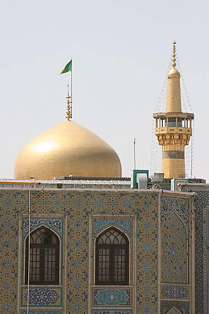 Dôme du sanctuaire de l'Imam Reza