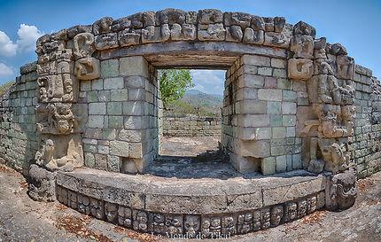 Les ruines maya de Copan