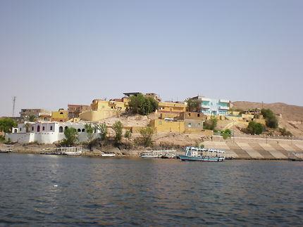 Les rives du Nil en Egypte