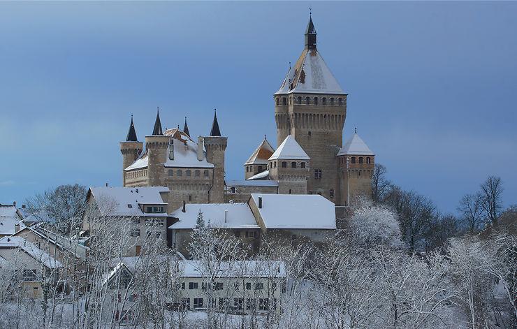 Le Château de Vufflens, Suisse
