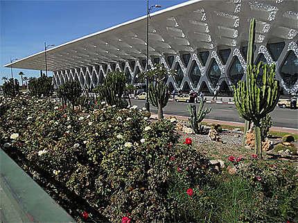 L'aéroport de Marrakech
