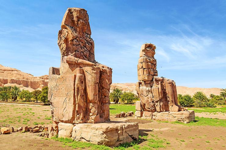 Rive ouest du Nil et la nécropole thébaine