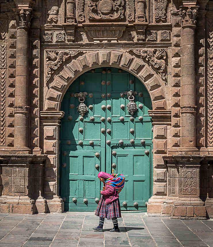 Dans les vieilles ruelles de Cusco