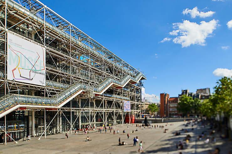 Centre Georges Pompidou Paris : 40 ans déjà...