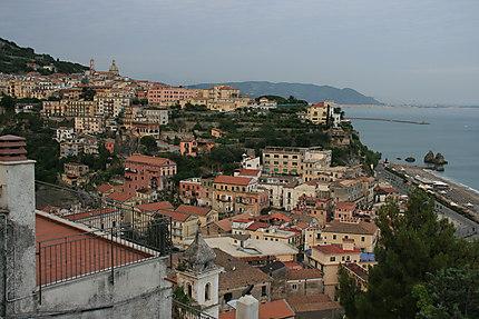 Sur les hauteurs de Salerno