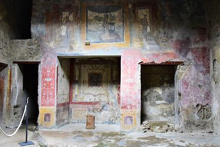 Peinture Murale à Pompéi Pompéi Campanie Italie