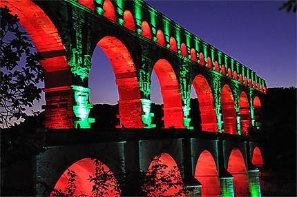 Illuminations du Pont du Gard