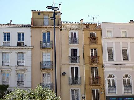 Jolies façades de Narbonne