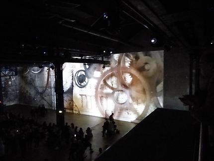L'ère industrielle et l'art Atelier des Lumières