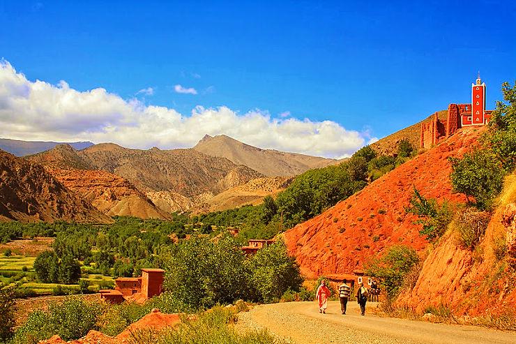 Vallée d'Aït Bou Oulli, Maroc