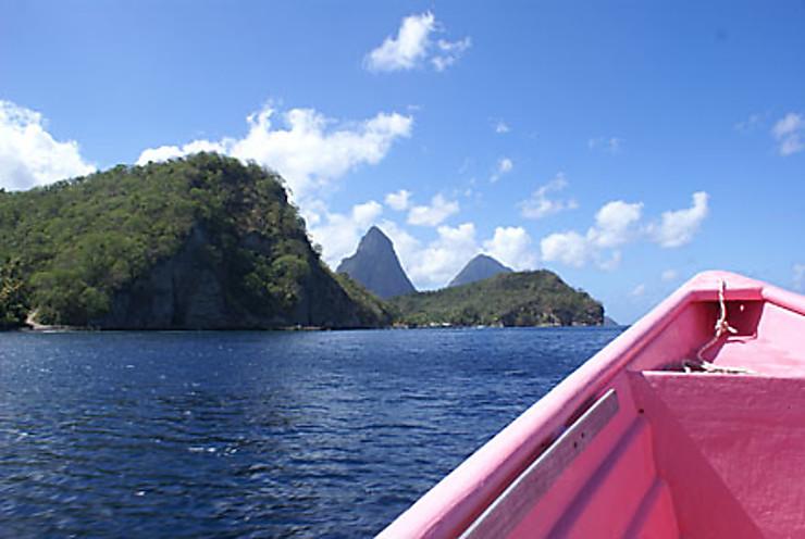 Sainte-Lucie, joyau des Antilles
