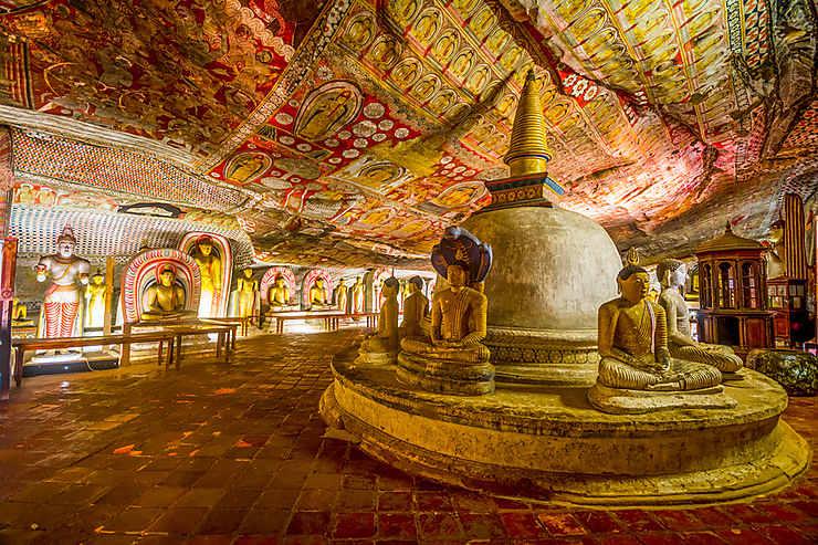 Sri Lanka, entre temples et plages