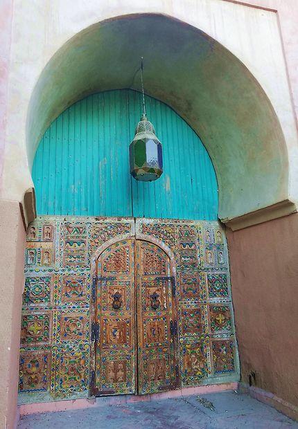 Taroudant - Une porte du palais Salam