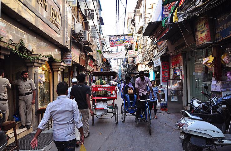 3e jour : Old Delhi et ses monuments historiques