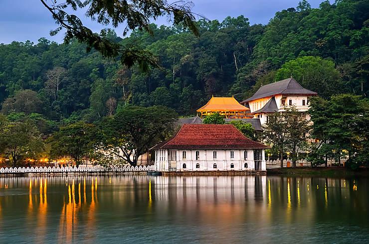 Les villes du Triangle culturel (Sri Lanka)