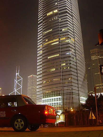 HK by night ...