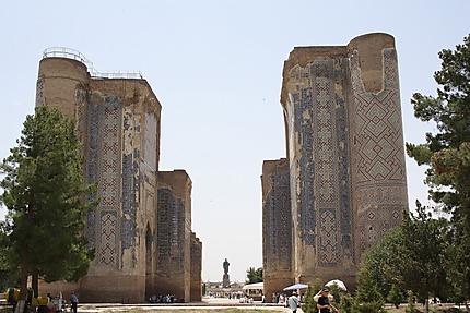 L'Ak Sarai, le Palais Blanc érigé par Tamerlan