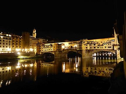 Ponte vecchio - Florence de nuit