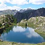 Lac de Vens en descendant des Babarottes