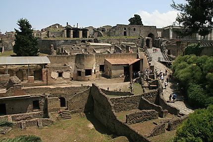 Entrée de Pompei