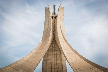 Alger - Maqam Echahid ou Mémorial du Martyr