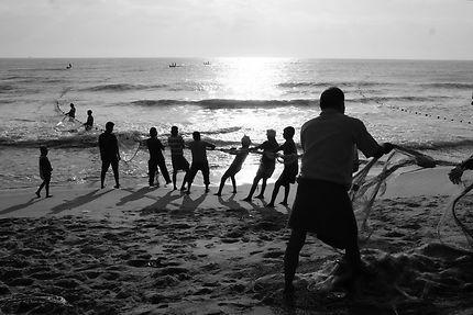 Pondichéry, village de pêcheurs
