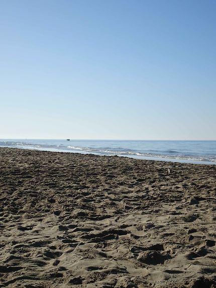 Sable doré plage de l'Espiguette