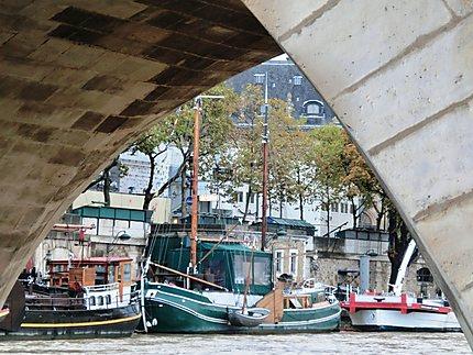 La Seine sous le Pont Neuf