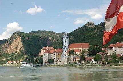 Dürnstein, vu du Danube