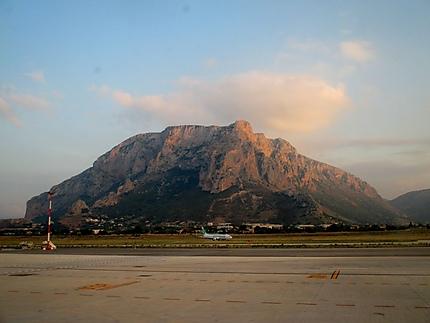 Piste aéroport de Palerme
