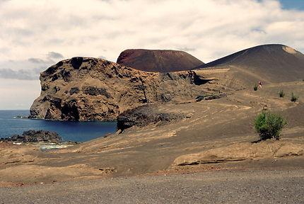 Volcan dos Capelinhos à l'extrême ouest de Faïal