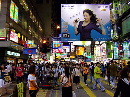 nuit à Mong Kok