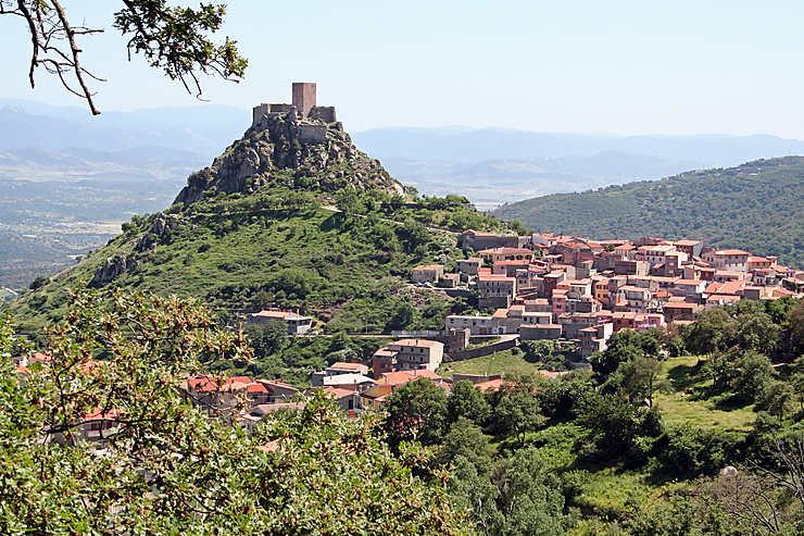 La Barbagia : Nuoro et le Monte Ortobene