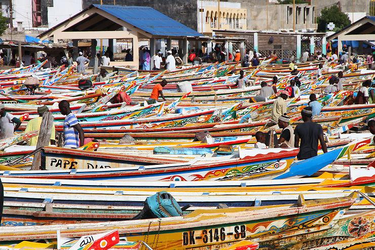 Marchés et design dans la médina de Dakar