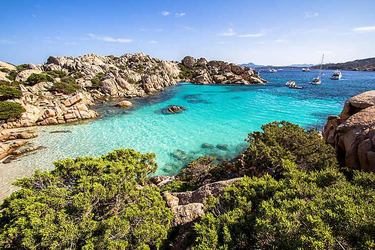 Les îles de la Maddalena (la Gallura)