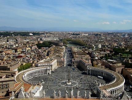 Roma et la place Saint-Pierre