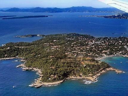 Cap d'Antibes et baie de Cannes