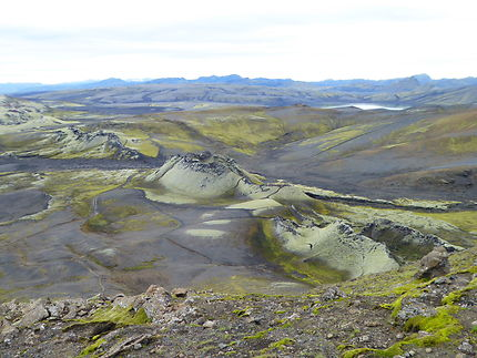 Vue sur le Lakagígar
