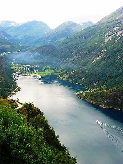 Vue sur les Fjords