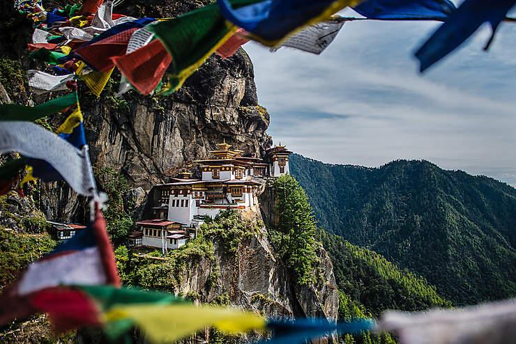 Le meilleur du Bhoutan : le monastère du Nid du Tigre (Taktshang)
