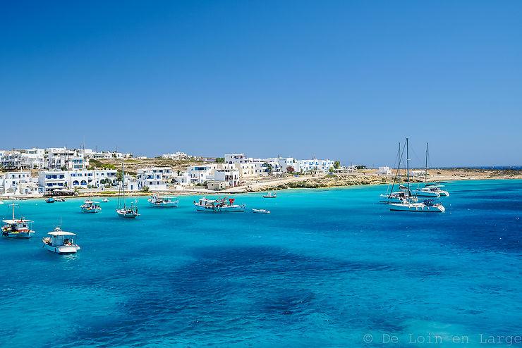 Carnet de voyage Cyclades : Naxos - Amorgos - Donoussa - Koufonissia